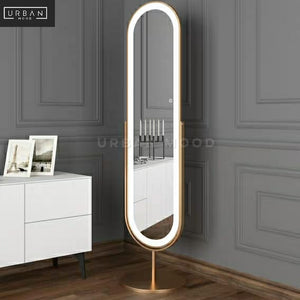 ANYA Modern LED Full Length Mirror