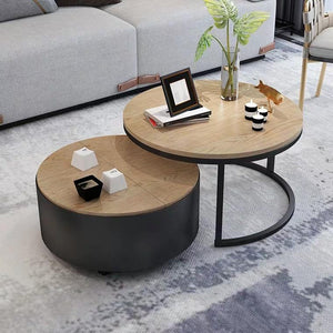 BALE Round Nesting Coffee Tables