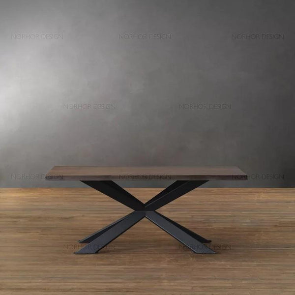 BEATRIX Contemporary Solid Wood Dining Table