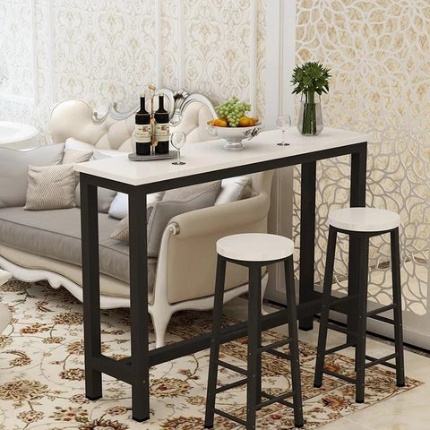 BILLIE Modern Industrial Bar Table