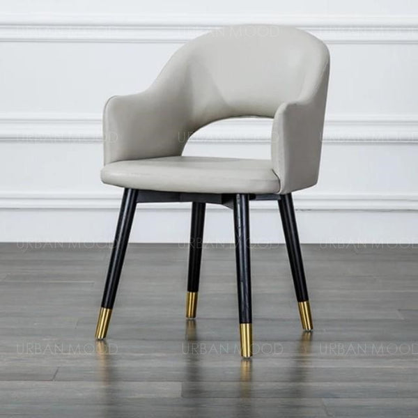 BLAKE Faux Leather Designer Dining Chair