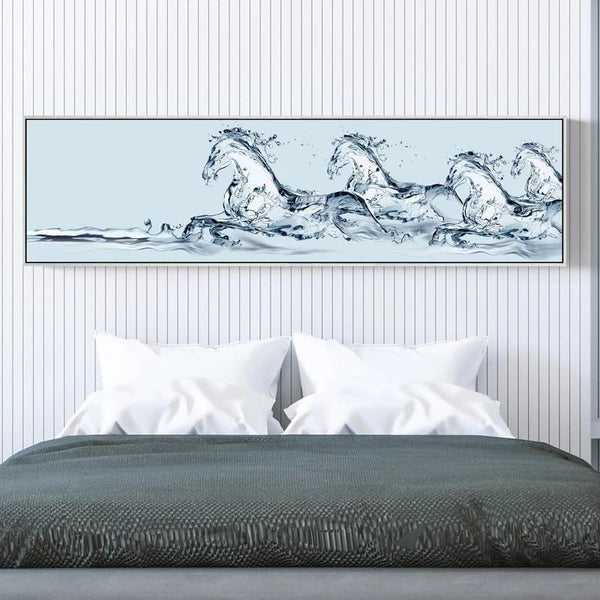 BLANC Horse Wall Art Painting