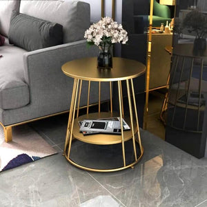 BROOK Minimalist Wireframe Side Table