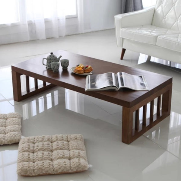 BRANDY Japanese Solid Wood Coffee Table