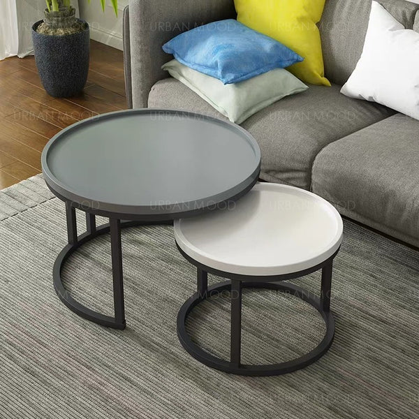 CADEE Colour Pop Round Coffee Table