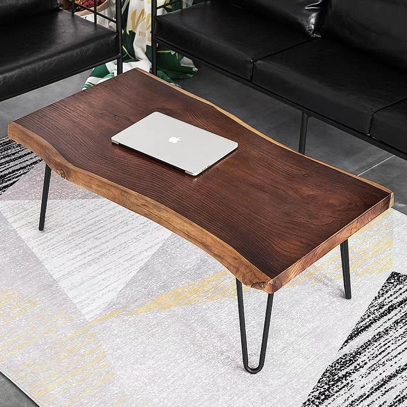 CAIUS Suar Live Edge Coffee Table