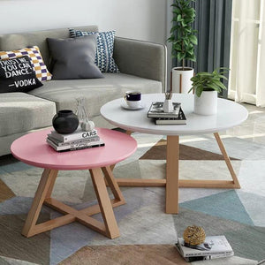 CASSANDRA Scandinavian Macaron Coffee Table