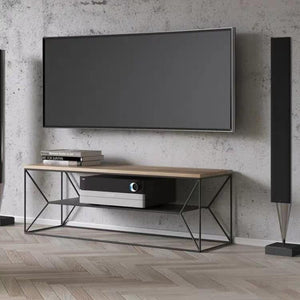 CERISE Modern Industrial Levitating TV Console