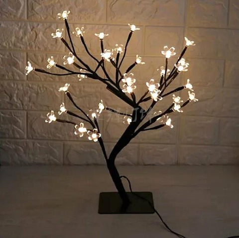 CHARIS Spring Blossom Bedside Table Lamp
