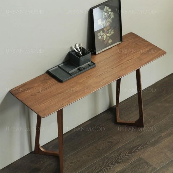 CONNERY Solid Pine Wood Display Console