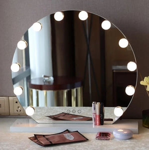 CINDY Spotlight Round LED Vanity Mirror