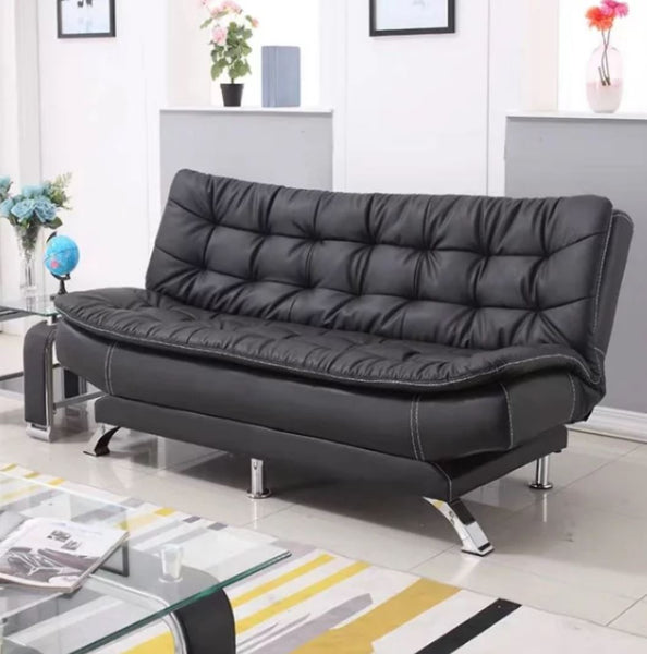 COLE Faux Leather Sofa Bed Set