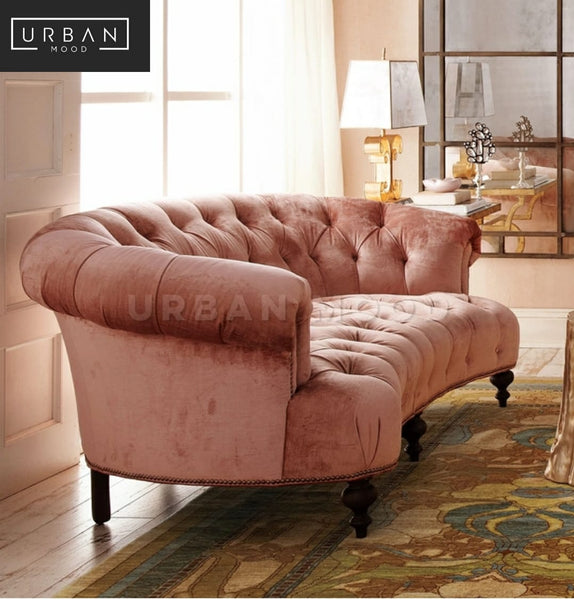 COURTNEY Victorian Tufted Sofa