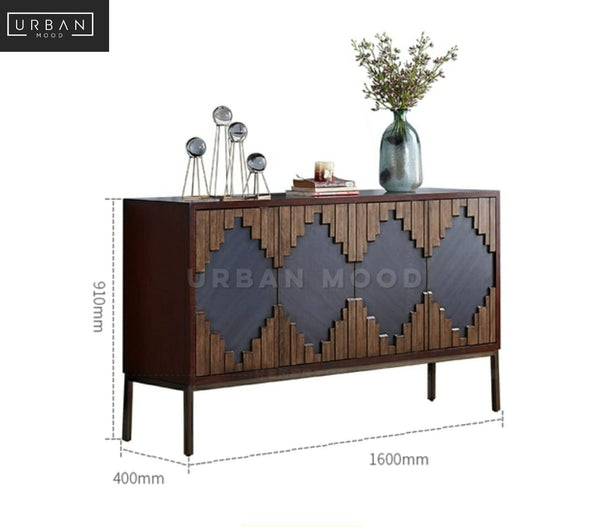 CRESSIDA Contemporary Solid Wood Sideboard