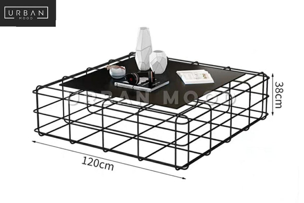 CZECH Modern Wireframe Coffee Table