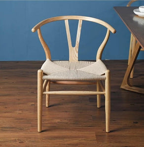 DENVER Rustic Wishbone Dining Chair