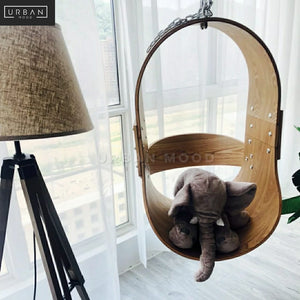 DAVIER Scandinavian Hanging Swing Chair