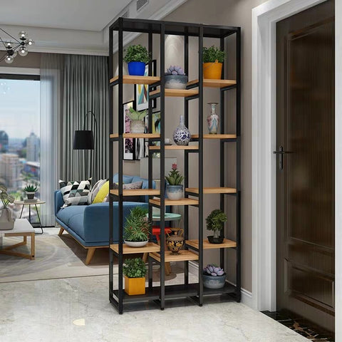 DAVINA Tall Modern Industrial Display Shelf