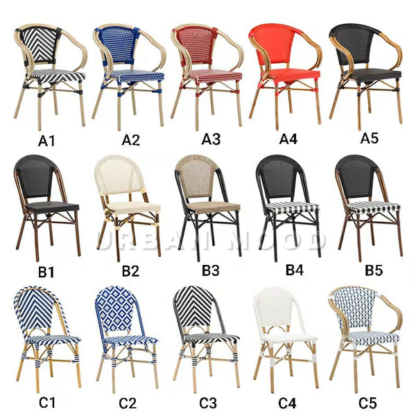 EARL Parisian Outdoor Bistro Chair