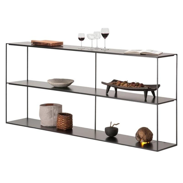 EVETTE Minimalist Wireframe Display Shelf