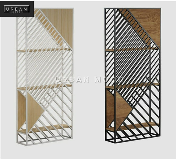ELIAS Modern Room Shelf Divider