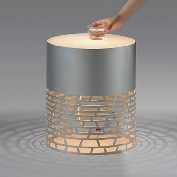 FANNING Contemporary Bedside Lamp Table