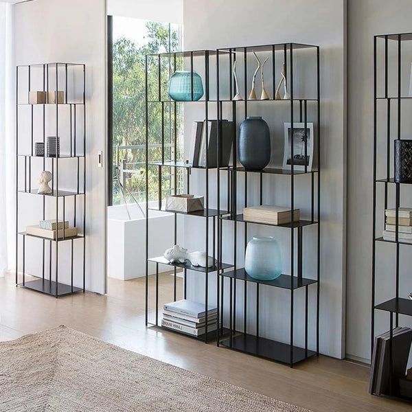 FEDORA Minimalist Wireframe Display Shelf