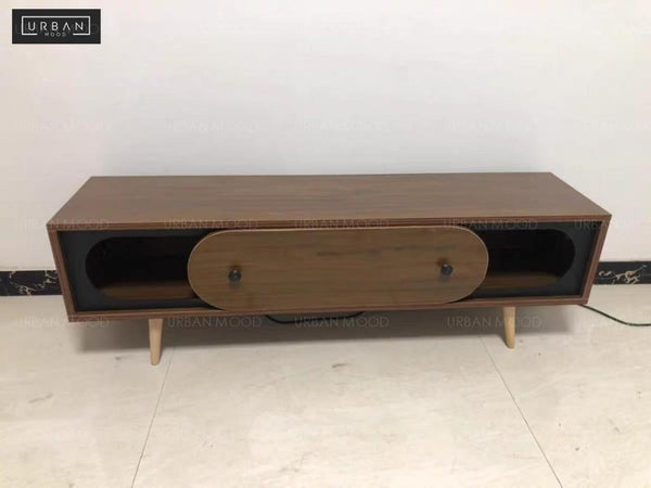 FIELDING Rustic TV Console