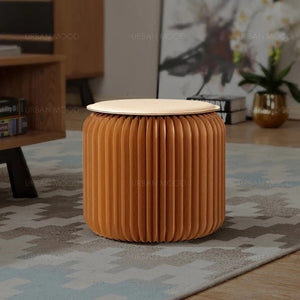 FOREST Eco Living Creative Natural Wood Stool
