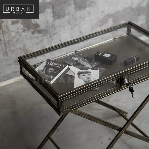 FILAMENT Industrial Side Table Tray