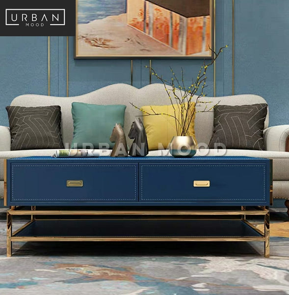 GENEVE Modern Chrome TV Console
