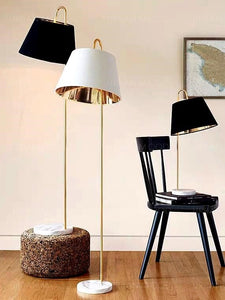 HATTER Chrome Gold Floor Lamp