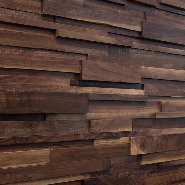 HENNESSY Rustic Wooden Plank Wall Panels