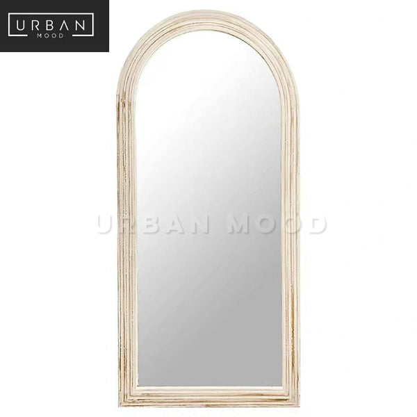 HAMPTON Vintage Distressed Accent Standing Mirror
