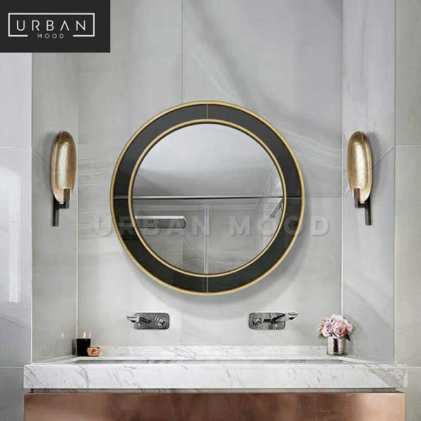 CAVEN Accent Round Wall Mirror
