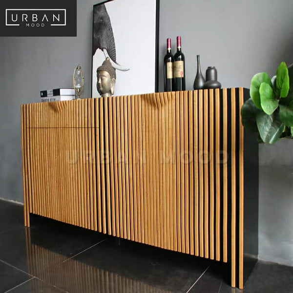 CAPONE Rustic Solid Wood Sideboard