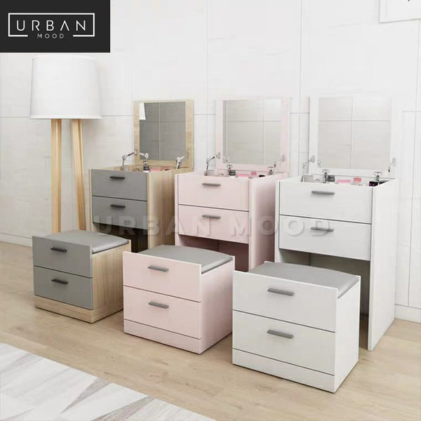 ENZO Modern Vanity Table Set