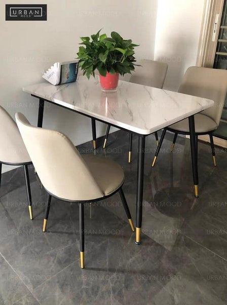 IVO Faux Marble Dining Table