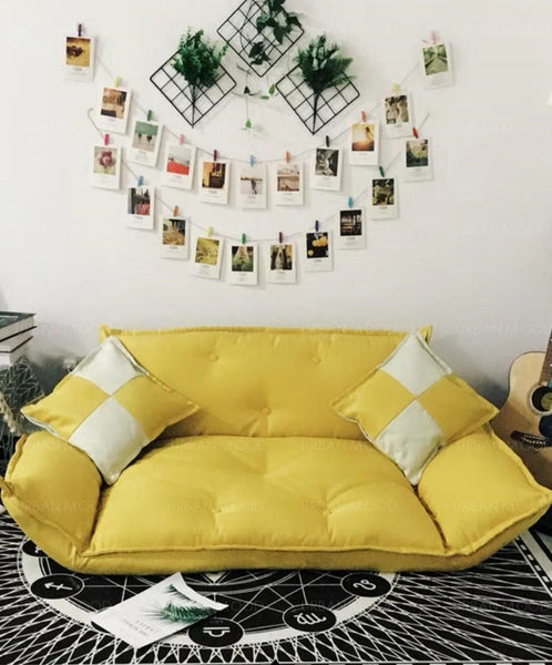 JAIME Fabric Floor Sofa Bed