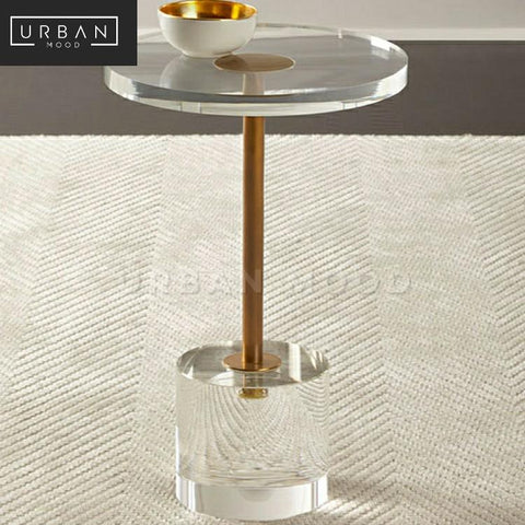 JOLYN Modern Acrylic Side Table