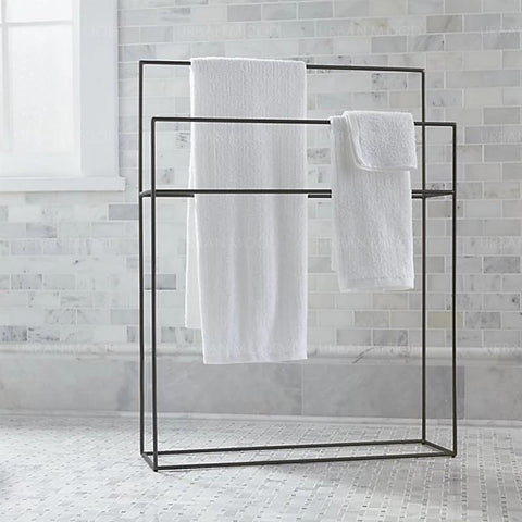 KINGSLEY Minimalist Wireframe Towel Rack