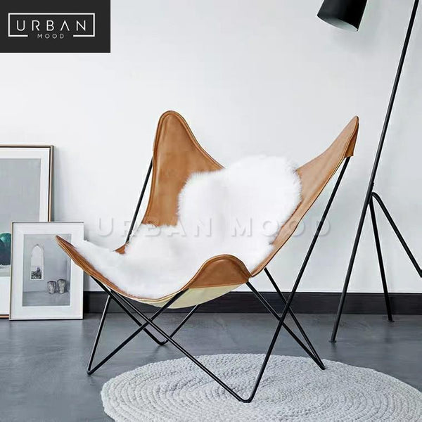 LYCAN Modern Butterfly Lounge Chair