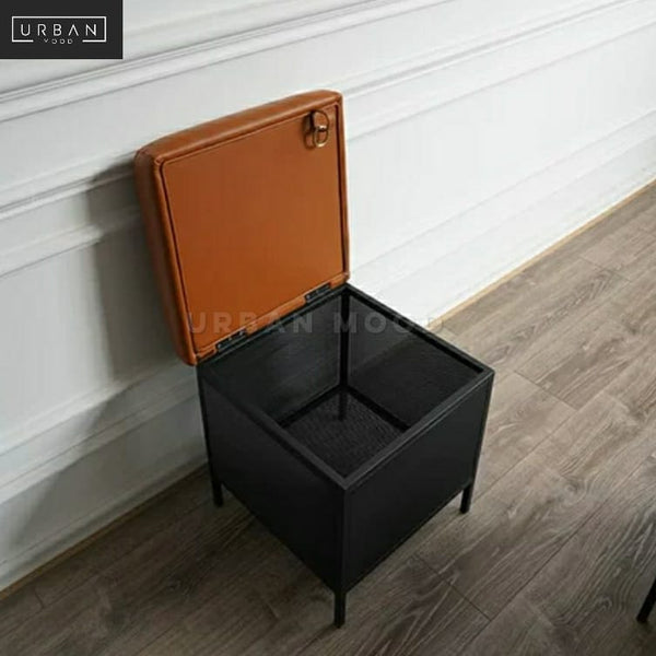 LABEL Modern Storage Bench