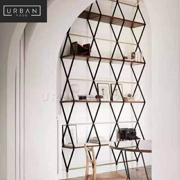 LAURENT Minimalist Wireframe Room Divider