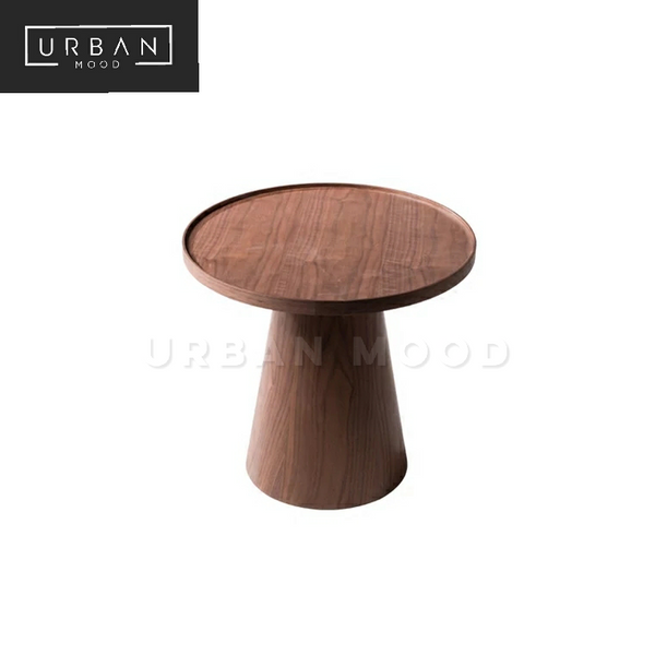 CONCORD Black Walnut Side Table