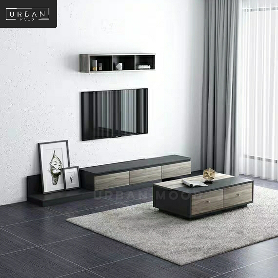 EARTH Modern Industrial TV Console