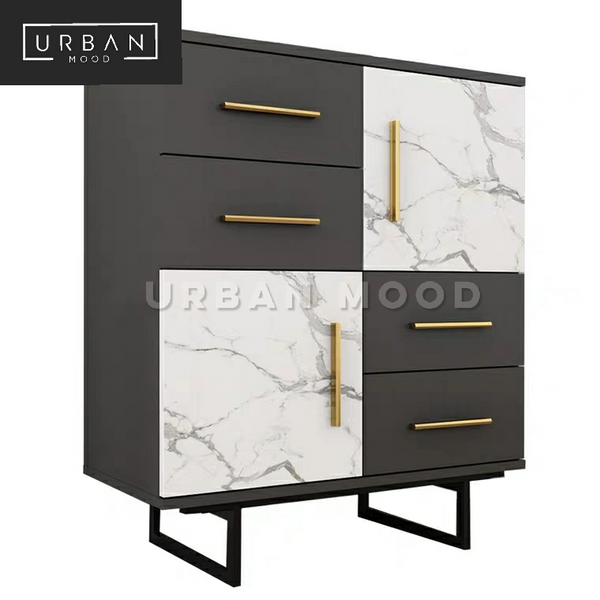 EROS Luxury Marble Side Cabinet