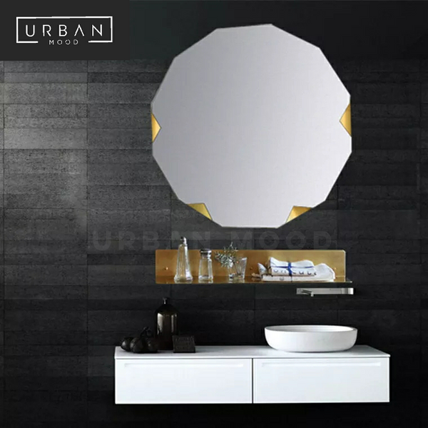WEISS Origami Wall Mirror