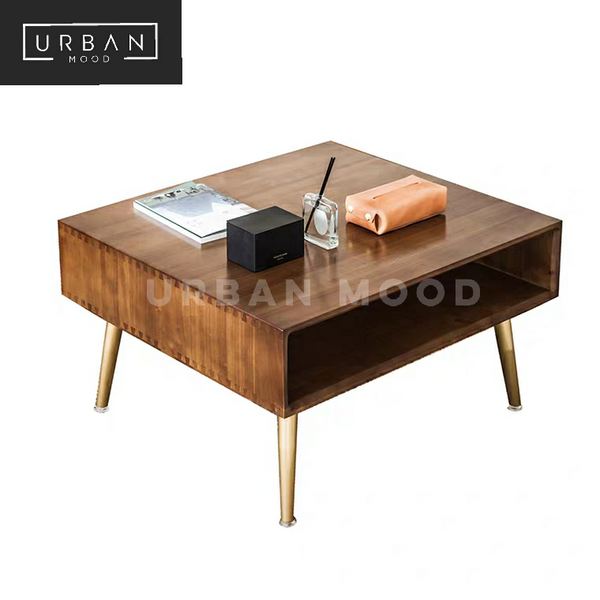 ANDES Rustic Solid Wood Coffee Table