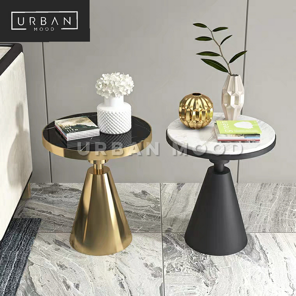 WINE Classic Marble Side Table